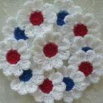 Red, White And Blue Croche..